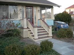 Wooden Front Stairs Design Ideas Exteriors Stunning Front Porch Stairs Step Ideas Using Brown Small