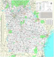 maps department of transportation highway map 1999 2000