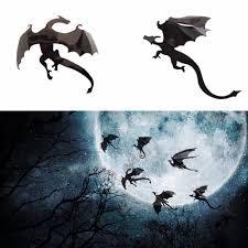dragon home decor 7pcs halloween creative home decor waller stickers 3d diy flying