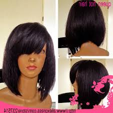 Short Bob Weave Hairstyles Short Weave Bob With Bangs Hairstyle Picture Magz