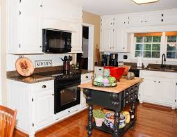 Photos Of Painted Kitchen Cabinets Remodelaholic From Oak Kitchen Cabinets To Painted White Cabinets