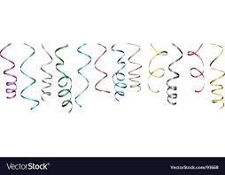 curly ribbon curly ribbon royalty free vector image vectorstock