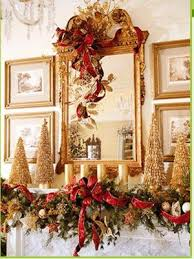 Images Of Mantels Decorated For Christmas 95 Best Christmas Mantel Inspiration Images On Pinterest