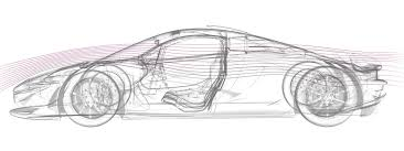mclaren logo drawing from sketch to reality mclaren p1 was sculpted by air driving