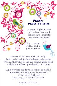 prayer praise and thanks spiritual bible and prayer