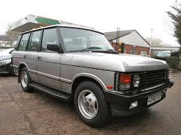 silver range rover land rover range rover 3 9 efi vogue automatic silver 1990 in