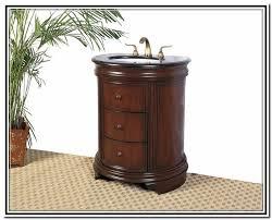 Round Bathroom Vanity Half Round Bathroom Vanity Home Design Ideas