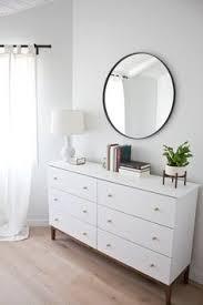 Bedroom Dresser Ikea Ikea Hemnes Dresser With Spray Painted Gold Knobs Humble Abode