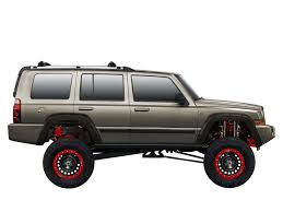 jeep commander modified by spankis on deviantart