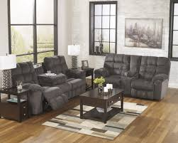 living room reclining sofa with drop down table living rooms