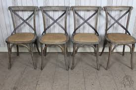 Metal Dining Chairs Distressed Oak Dining Chair Aged With Metal For Stylish House Chairs