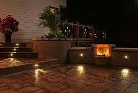low voltage patio lights outdoor recessed led lighting cedar and more cedar cypress