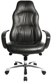 Office Furniture Chairs Png Tst Rs90fad0 Topstar Rs1 Leather Executive Chair Black At