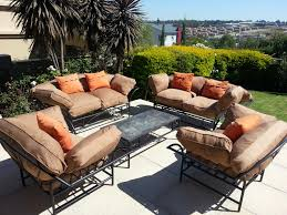 Wrought Iron Patio Furniture Set by Exterior Design Cozy Wicker Overstock Patio Furniture With
