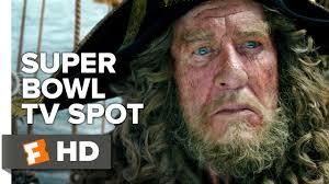 pirates caribbean dead men tales ext superbowl tv