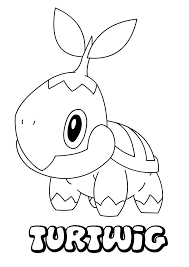 turtwig coloring pages hellokids