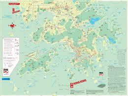Shenzhen China Map Hong Kong Map With Detail Map Of All Hong Kong Islands