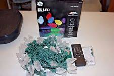 g e ge 50ct led c 9 color effects changing string