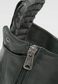 discount biker boots cheap replay jeans replay misey cowboy biker boots schwarz
