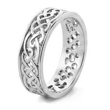 celtic wedding bands platinum celtic wedding band with amazing