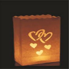 compare prices on valentine outdoor decorations online shopping 10pcs lot heart to heart candle bag retardant paper bags flame lantern for bbq valentine