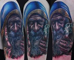 27 wizard sleeve tattoos and designs