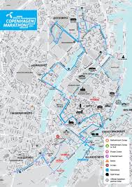 Copenhagen Map Telenor Copenhagen Marathon World U0027s Marathons