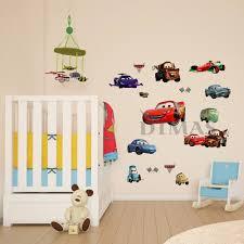 large disney cars wall stickers boys lightning mcqueen kids racing cars lighting mcqueen wall decals sticker kids nursery room decor vinyl