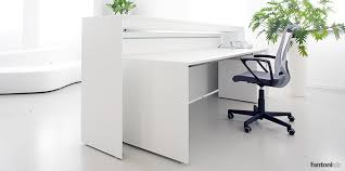 Reception Desk Uk White Reception Resks Meta Desk Fantoni Uk