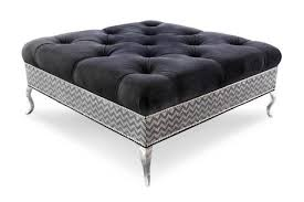 Black Tufted Ottoman Have You Seen A Cocktail Ottoman Table Like This