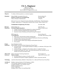 Curriculum Vitae Samples Pdf For Freshers by Resume Format For Electrical Engineering Students