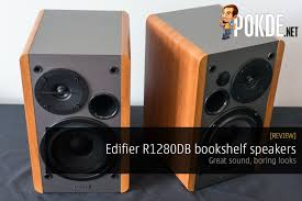 Review Bookshelf Speakers Edifier R1280db Bookshelf Speaker Review U2013 Pokde
