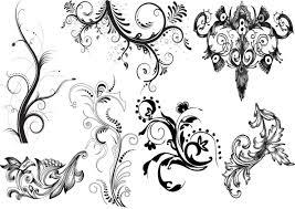 black and white tattoos patterns cool tattoos bonbaden