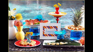 easy summer party table decorations youtube
