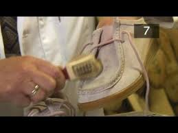 how to clean light suede shoes how to clean suede shoes youtube