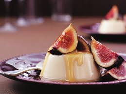 clove panna cotta with fresh figs recipe food to love