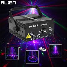 Laser Stage Lighting Outdoor by Alien New 96 Patterns Rgb Mini Laser Projector Light Dj Disco