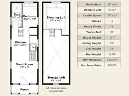 Tiny House Plans On Wheels 2 Bedroom Tiny House Plan On Wheels Things I Love Pinterest