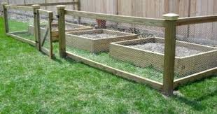Ideas For Fencing In A Garden Building A Garden Fence Salmaun Me