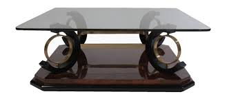 Glass Modern Coffee Table Sets Italian Mid Century Modern Coffee Table Glass Top Modernism