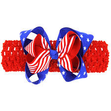 Flag Manufacturers American Flag Headband 4th July Indep Us National Day Children
