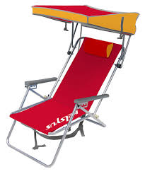 Gci Outdoor Pico Arm Chair Amazon Com Kelsyus Beach Canopy Chair Red Sports Fan Canopies
