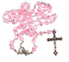pink rosary buy pair of rosary pink rosary rosary quality
