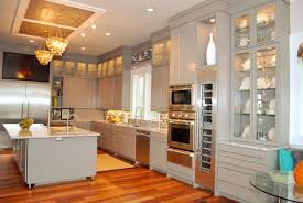 Kitchen Magnificent Built In Corner 44 Kitchens With Double Wall Ovens Photo Examples