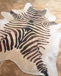 zebra hide
