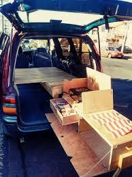 diy van kitchen dinnertime camping with van conversion simple van