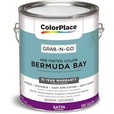 colorplace grab n go bermuda bay interior paint with scotchblue