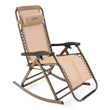 Anti Gravity Rocking Chair by Amazon Com Ancheer Folding Rocking Chair Zero Gravity Rocker