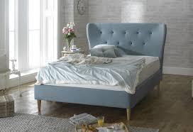 Blue Bed Frame Limelight 5ft Kingsize Duck Egg Blue Fabric Bed Frame By