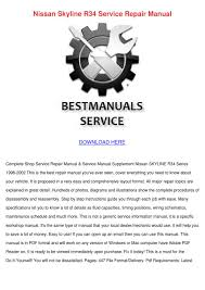r32 service manual nissan skyline r34 service repair manual by francie carasco issuu